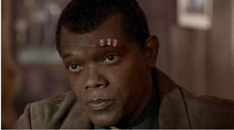 Samuel Jackson from Captain Marvels