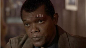 Samuel Jackson from Captain Marvels