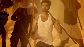 Atharvaa Murali in Boomerang. Trailer Screenshot.
