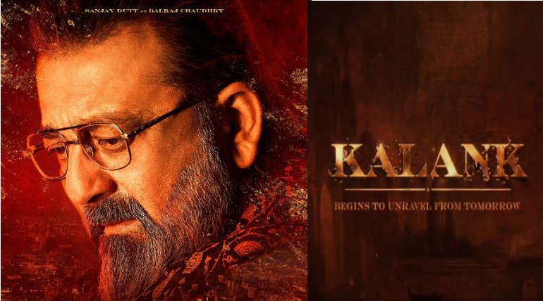 Sanjay Dutt in Kalank