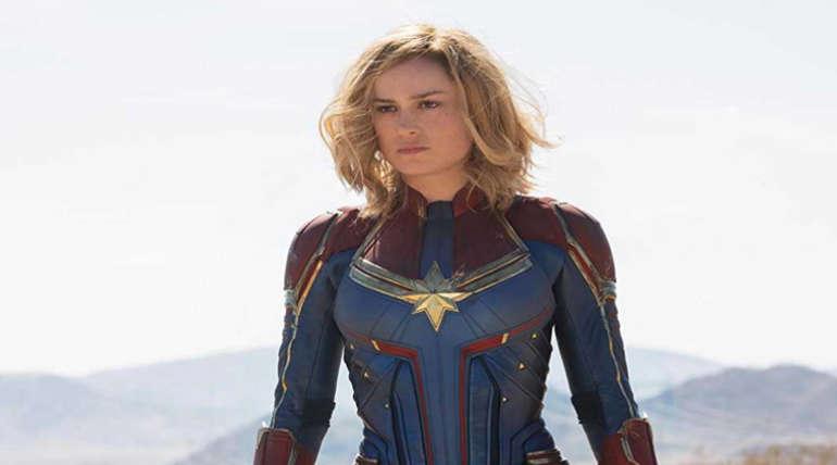 Brie Larson as Captain Marvel. Imdb Image