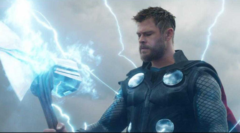 Thor from Avengers Endgame Trailer Image Marvel Entertainment