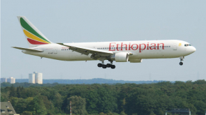 Ethiopian Airlines Representation Flight Image , Source - Wikimedia Commons