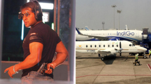 Suriya 38 , Images - Ghajini still and Air Deccan Beechcraft