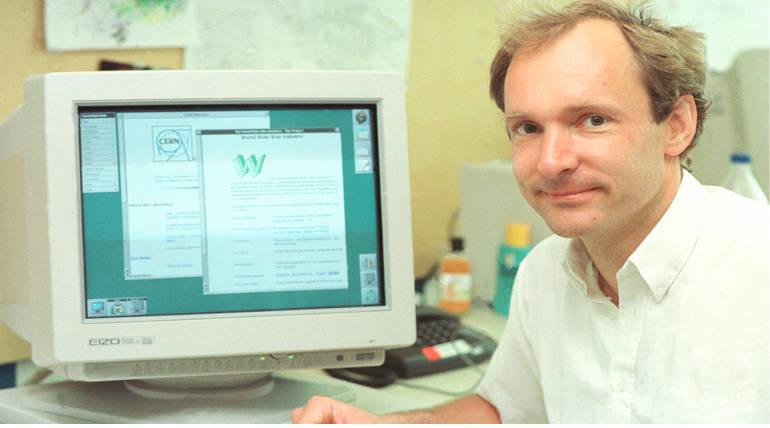 Sir Tim Berners Lee. Image Source Wikimedia