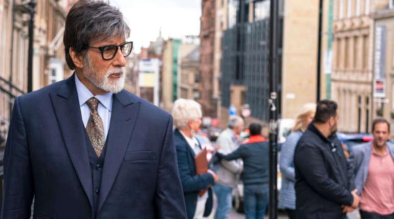 Amithabh in the Movie Badla