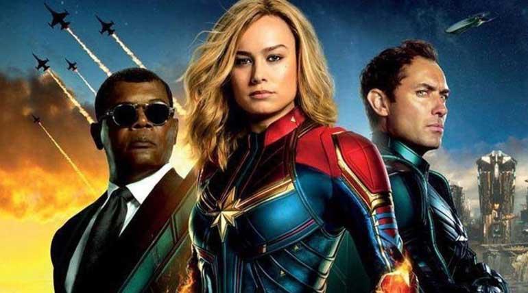 Captain Marvel Movie stills