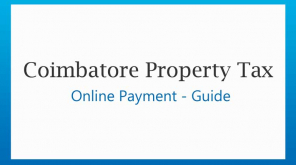 Coimbatore City Municipal Corporation Guide for Property Tax Payment Online