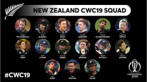 ICC CWC 2019 New Zealand Squad