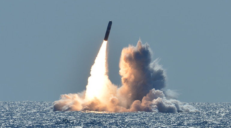 North North Korea Short Rate Projectiles into the Sea of Japan (Representational Image)