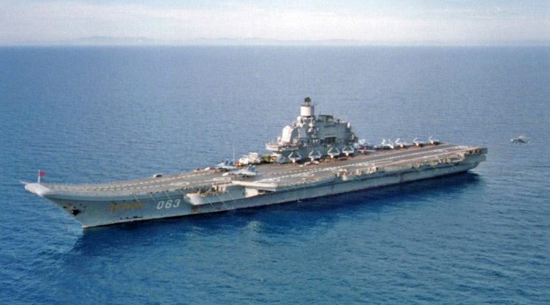 Russian Aircraft Carrier (Rep image)