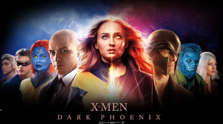 X-Men Dark Phoenix movie poster