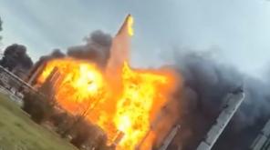 Explosion at Texas Petrochemical Plant: People are evacuated. Photo Courtesy: Facebook/Priscilla Gracia