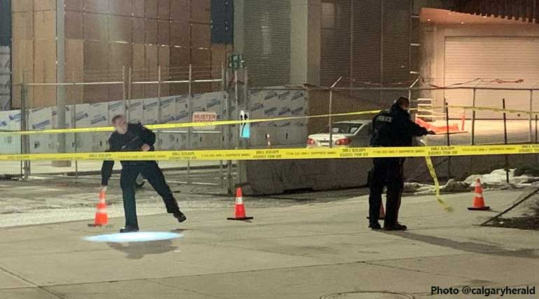 Two shot and one axed in Calgary in Canada on 23 November