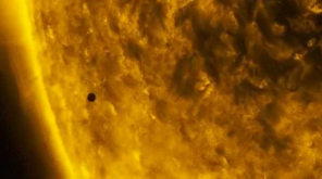 Mercury Transit 2019: Mercury moving between the Sun and Earth