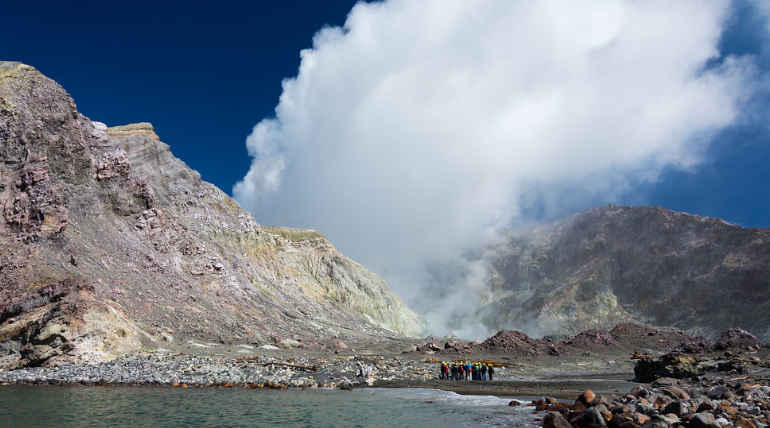 Five Dead in White Island Volcano Eruption. Image Credit: Flickr/Christoph Strassler