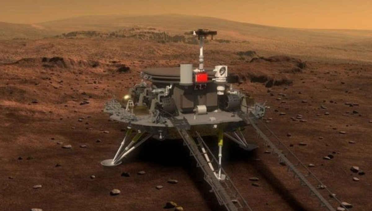 China Mars Mission is on Track