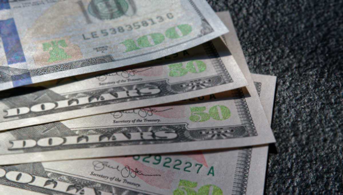 USA Stimulus Money shows NOT Available STATUS