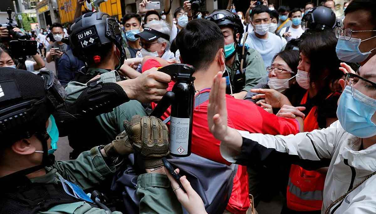 Hong Kong Protest. Photo @TheTorontoSun