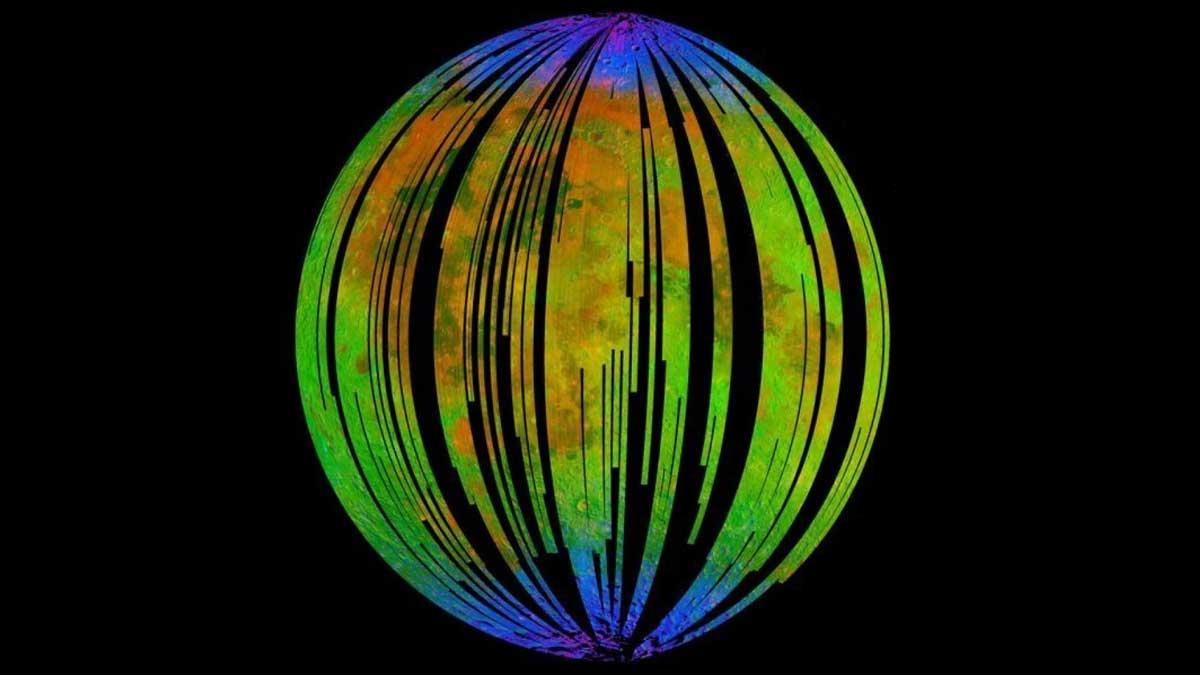 Moon may become Mars through Rusting