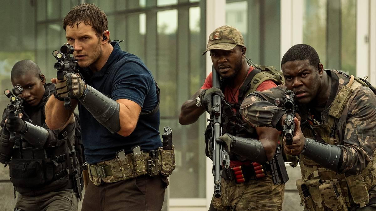 Chris Pratt in The Tomorrow War Upcoming Movie
