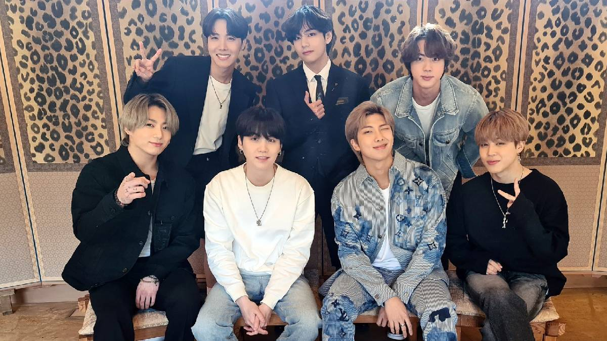 BTS nominated for iHeartRadio 2021