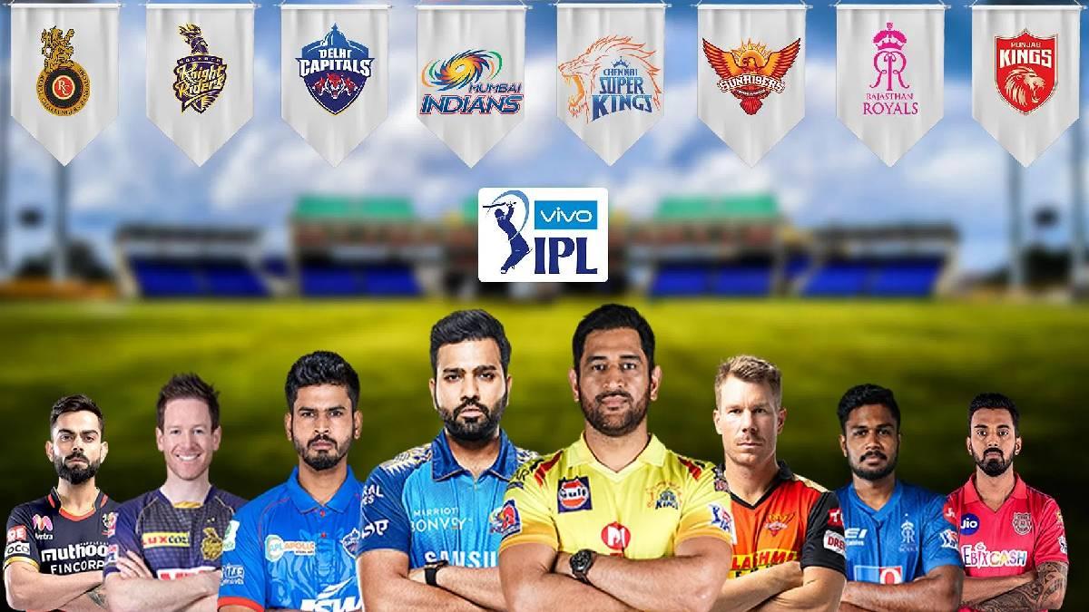 IPL 2021 Captains Poster
